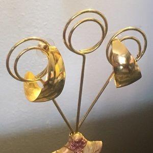 Jewelry - Gold-tone Earrings